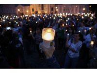 Polonya'da yargı protestosu