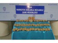 Van'da 38 kilo 730 gram eroin maddesi ele geçirildi