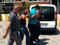 Mazot hırsızları kıskıvrak yakalandı