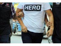 Eskişehir'de 'Hero' tişörtü giyen kişi gözaltına alındı
