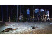 Başkent'te alkollü şahıs, atık suların aktığı dereye düştü