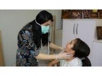 Engellilere ağız ve diş sağlığı taraması yapıldı