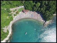 Karadenizde mavi bayraklı plajlar tercih ediliyor