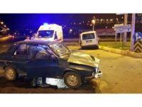 Kahramanmaraş'ta trafik kazası: 4'ü çocuk 11 yaralı