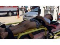 Binanın duvarı devrildi, 3'ü çocuk 4 kişi yaralandı