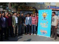 AK Parti Niğde gençlik kolları, Kudüs'teki zulme  duyarsız kalmadı