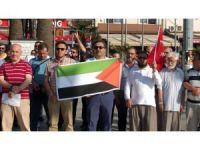 Bandırma'da Kudüs protestosu