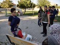 """""""Mobil Park Polisi"""" ekiplerinden asayiş uygulaması"""