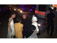 Düğün salonunda elektrik panosu yandı, çok sayıda kişi hastanelik oldu