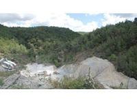 Kozak'ta taş ocaklarının çevreye zarar verdiği iddia edildi