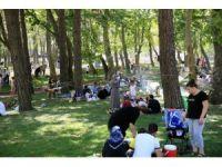 15 Temmuz Şehitler Parkı'na yoğun ilgi