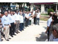 Gazeteciler Basın Anıtı'na çelenk bırakıp meşale yaktı