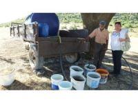 Çallı'da Çoban Ahmet'ten su sorununa tankerli çözüm