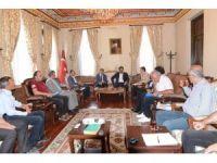 Karayolları yatırımlarını değerlendirme toplantısı yapıldı