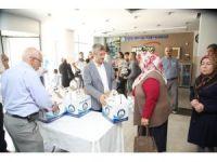 Şahibey'den vatandaşlara et yardımı