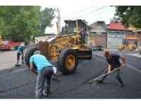 Büyük Sanayi Sitesi'nin asfalt sorunu çözüldü