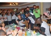 N'Sakala'ya doğum günü sürprizi
