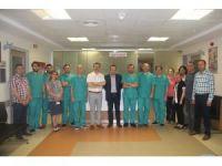 Bursa Kamu Hastanelerinde ilk organ nakli gerçekleşti.
