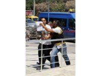 Alanya'da silahlı saldırgan yakalandı