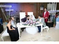 Başkarcı Düğün Salonu'nda ilk düğün heyecanı