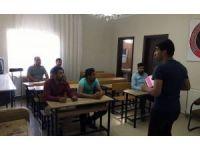 Midyat'ta engelliler için KPSS kursu açıldı