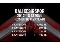 Balıkesirspor'un kombine bilet ücretleri belli oldu