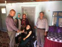 Akülü tekerlekli sandalyeler engellilere ulaştırılıyor