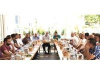 Elazığ TSO Başkanı Alan, 3. meslek gurubu temsilcileriyle bir araya geldi