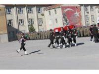 Siirt'te şehit Astsubay Akdağ için tören düzenlendi
