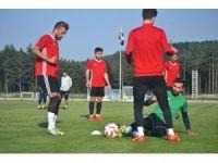 Gazişehir FK günün ikinci antrenmanını gerçekleştirdi
