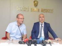 Vali Karahan'dan Denizli Gazeteciler Cemiyeti'ne ziyaret