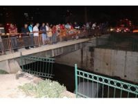 Adana'da araç sulama kanalına düştü: 2 yaralı