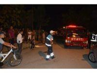 Manisa'da ardı ardına yaşanan patlama sesleri mahalleliyi ayağa kaldırdı