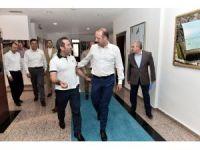 Bingöl Valisi Mantı, Başkan Akgül'ü ziyaret etti