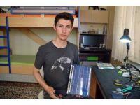 Malatyalı genç portatif şarj cihazı yaptı