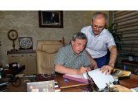 Pursaklar Belediyesinde işçiler toplu iş sözleşmesi imzaladı
