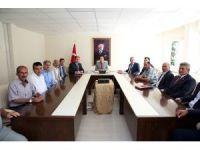 Vali Ali Hamza Pehlivan, muhtarlarla toplantılara devam ediyor