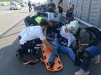 Haliç köprüsü'nde trafik kazası: 1 yaralı