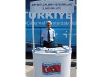 İstihdam Otobüsü Kayseri'de