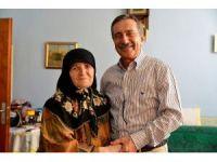 Başkan Ataç, yaşlı ziyaretlerini sürdürüyor