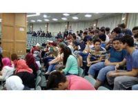 Türk öğrenciler, Ürdün Parlamentosu'nda