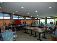 Gediz MHP teşkilatından basın mensuplarına kahvaltı