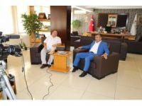 Başkan Akdoğan, Kanal A Televizyonunun konuğu oldu