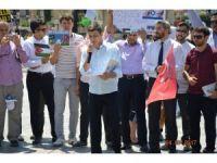 İmam hatiplilerden İsrail protestosu