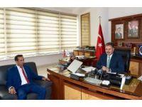 Evkur Yeni Malatyaspor'da yeni stat ve tesislerin durumu görüşüldü