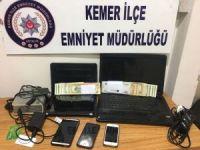 Antalya'da kredi kartı dolandırıcılığı