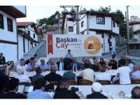 'Başkan İle Çay Sohbetleri' Hisarardı Mahallesiyle devam etti