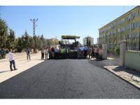 Kilis'te asfalt çalışmaları devam ediyor