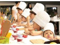 Narven mutfağında minik şefler yetişiyor