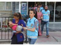Samsun polisinden eş zamanlı operasyon: 25 gözaltı